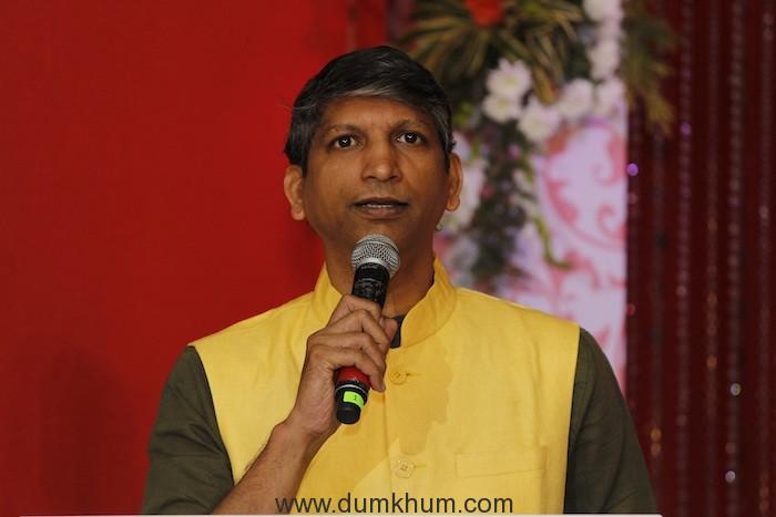 Deepak Rajadhyaksha, Deputy Business Head, Zee TV at the Press conference of new fiction show Isq Subhan Allah