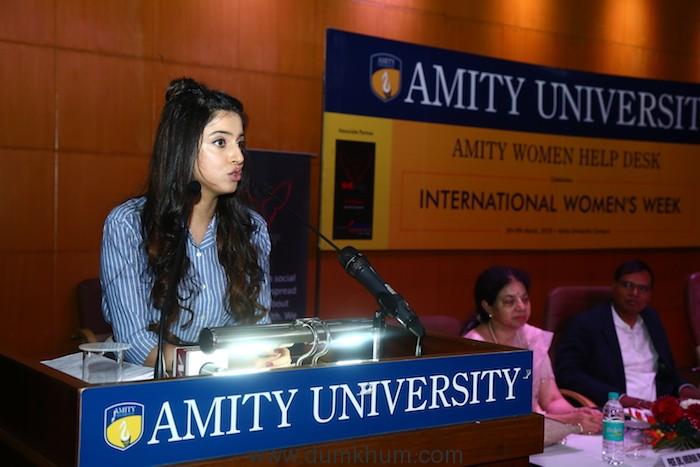 Divya Khosla Kumar rallies audience on female hygiene at She Wings' International Women's Week conference -6