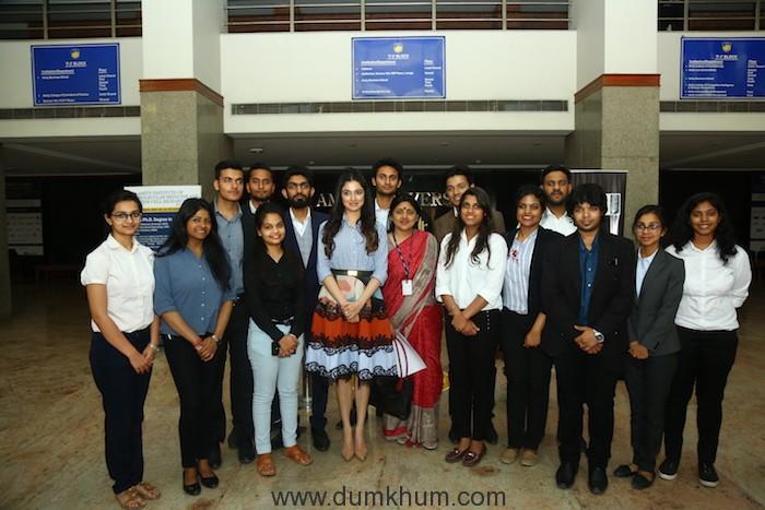 Divya Khosla Kumar rallies audience on female hygiene at She Wings' International Women's Week conference -8