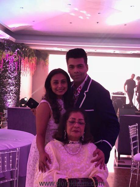 Here's how Karan Johar's mother Hiroo Johar celebtated her 75th birthday