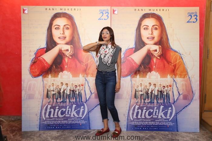 Hichki Screening 4