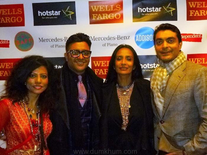 Milly, Ash, Suchitra, Aly Ri