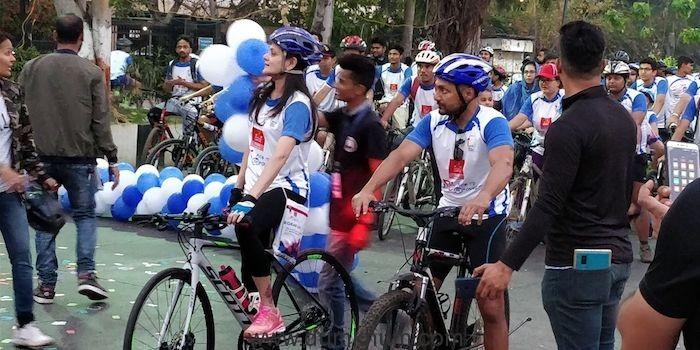 Mrs. Neerja Birla and Rahul Bose kickstarted Multiply Ride to Mpower