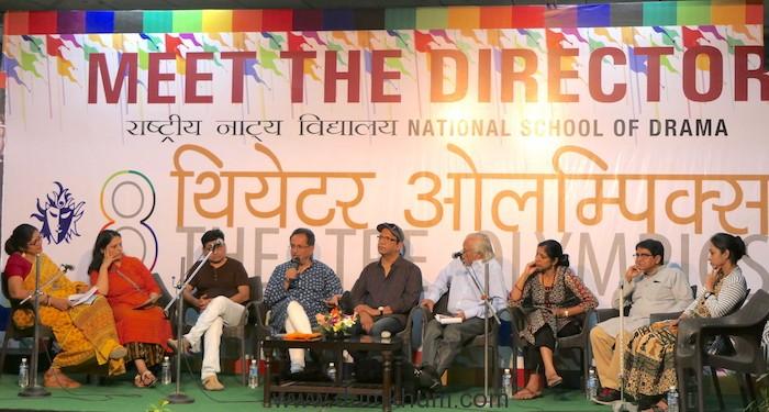 Ms Neelam, Ms Neetu, Mr. Abhiram Bhandakamkar,Mr Feisal Alkazi, Mr. Napolian Almeida,Mr. Diwan Singh Bajeli, Ms. Renu Arora, Mr. Santanu Das, Actor MEET THE DIRECTOR