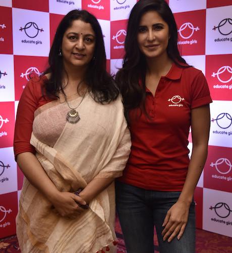 Katrina Kaif comes on board as the brand ambassador for international award-winning non-profit organisation, Educate Girls