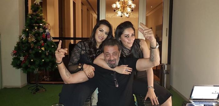 Sanjay Dutt celebrates Women's Day with the important women of his life