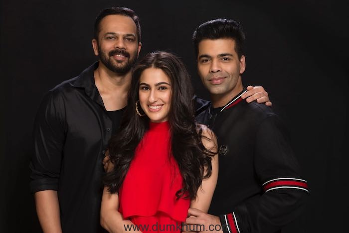 Sara Ali Khan signed by Rohit Shetty and Karan Kohar as The  Leading   lady in  SIMMBA