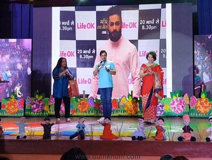 Shaleen Bhanot with Podar International School Kids (1)