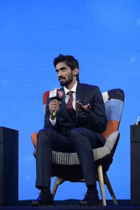 Shrikant Kidambi at India Today Conclave 2018
