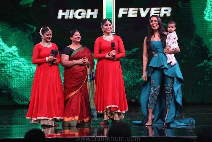 The Grand Premiere of &TV's new show High Fever.. Dance Ka Naya Tevar_Judges- Lara Dutta, Dana Alexa and Ahmed Khan (1)