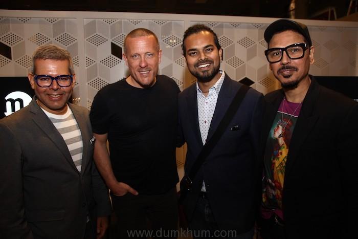 Vikram Raizada, Scott Schuman, Rahul Mishra & Troy Costa