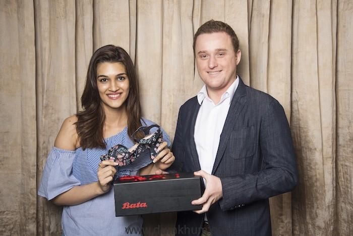 Iconic Brand Bata India Signs Kriti Sanon as its Brand Ambassador