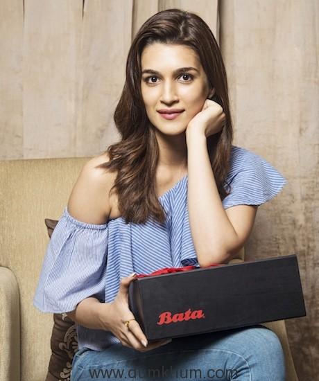 Bata Signs Actress Kriti Sanon as its new Brand Ambassador