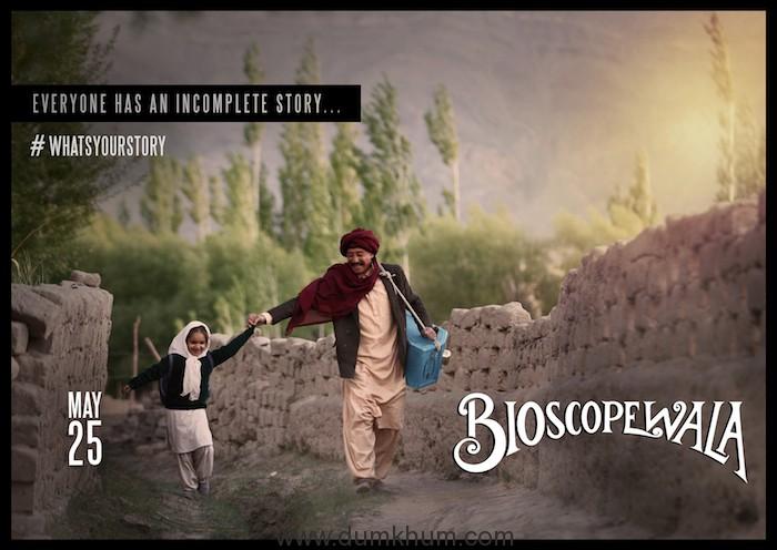 Bioscopewala is an extrapolation of  Rabindranath Tagore's Kabuliwala.