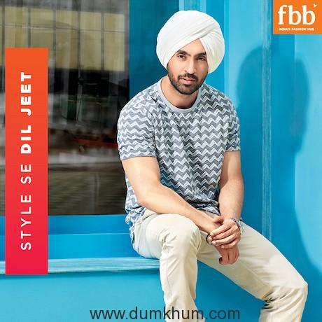 fbb signs Diljit Dosanjh as its Brand Ambassador