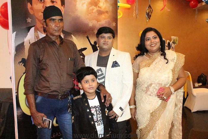 Aditya Narayan joins in the celebration for Jayas Kumar's surprise birthday party.