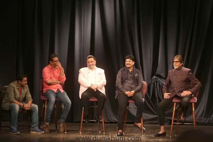 Jimit Trivedi, Saumya Joshi, Rishi Kapoor, Umesh Shukla & Amitabh Bachchan