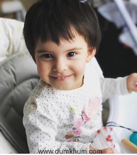 Karan Johar's camera friendly daughter Roohi