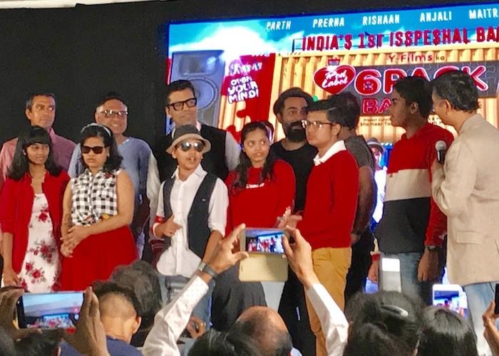 Karan Johar introduces 6 Pack Band 2.0 for mental disability awareness with Y-Films & Brooke Bond Red Label