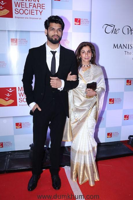Karan Kapadia spotted with his aunt Dimple Kapadia at multiple events