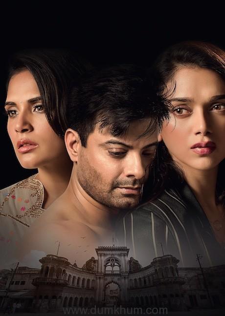 (L-R) Richa Chadha, Rahul Bhat and Aditi Rao Hydari in their fierce avatars