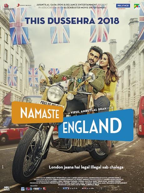 Namaste England starring Arjun Kapoor and Parineeti Chopra