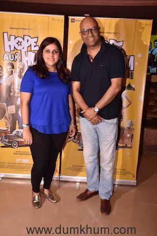 Producer Samira Bandyopadhyay and Director Sudip Bandyopadhyay