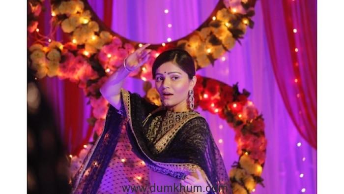 Rubina Dilaik aka Saumya in COLORS' Mahasangam episode