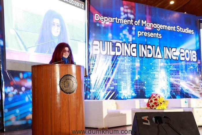 Ayurveda Pioneer Shahnaz Husain shares her Harvard journey with IITians