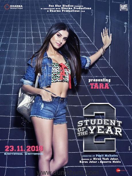 Tara Sutaria in SOTY 2