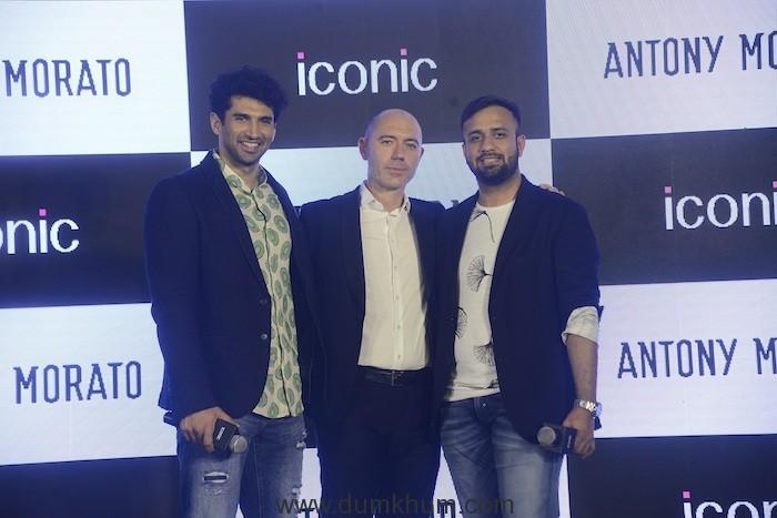 Aditya Roy Kapoor_Stefano Fadda GM Asia Pacific Antony Morato_Apoorv Sen Brand Manage Iconic