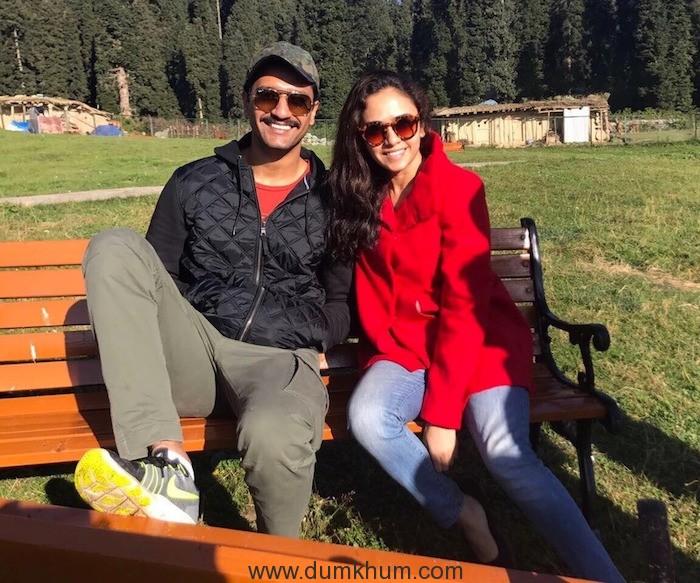Amruta Khanvilkar got new fan in Vicky Kaushal!
