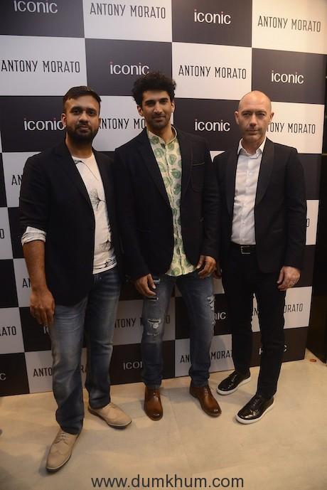 Apoorv Sen Brand Manage Iconic_Aditya Roy Kapoor_Stefano Fadda GM Asia Pacific Antony Morato (1)