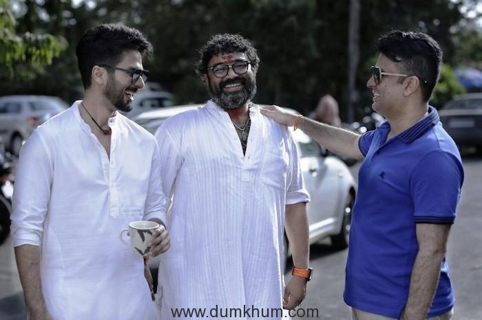 Batti Gul Meter Chalu shoot begins in Mumbai with cast Shahid Kapoor, Shraddha Kapoor, director Shree Narayan Singh and producer Bhushan Kumar