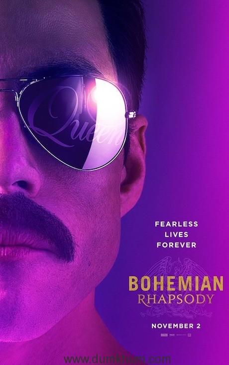 'Bohemian Rhapsody' Poster & Trailer Out Now !