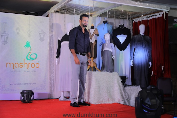 Irfan Pathan Launches Mashroo's Exclusive Ramadan Collection Thobes