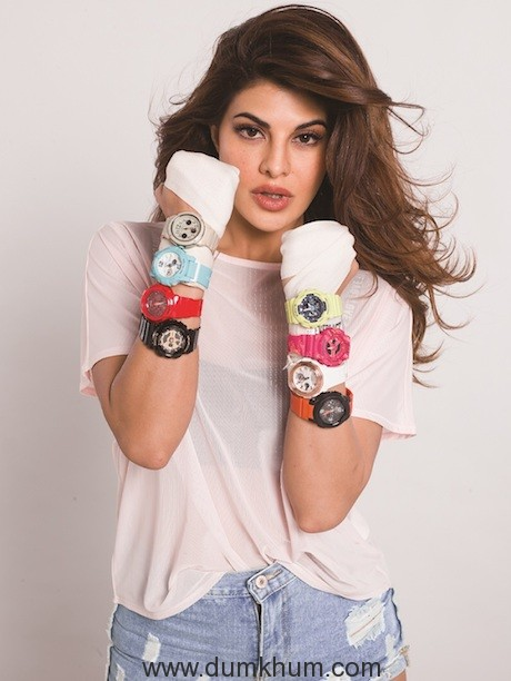 Casio India Announces Jacqueline Fernandez as Brand Ambassador for its Women's Watches