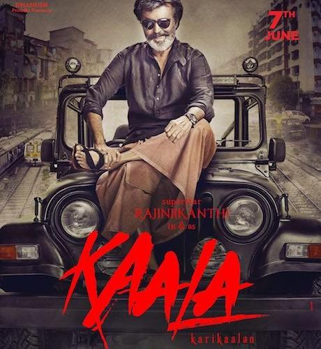 Here's presenting the poster of Rajinikanth's *Kaala Karikalan
