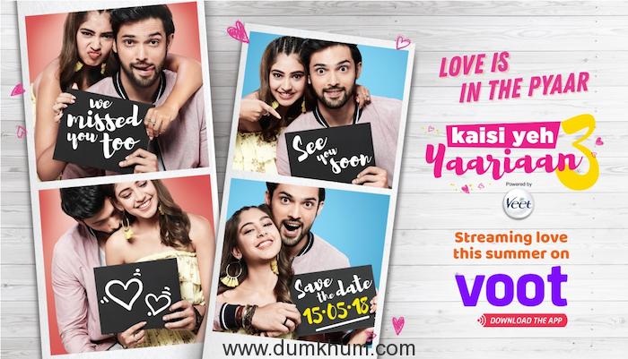 This Summer, Ishq is in the Pyaar with VOOT Original – Kaisi Yeh Yaariyan