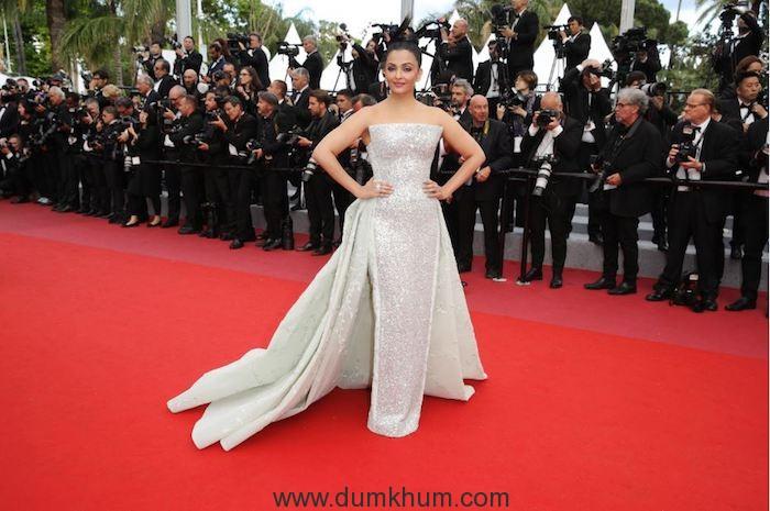 L'Oréal Paris brand ambassador Aishwarya Rai Bachchan shines on Day 6 of Cannes Film Festival