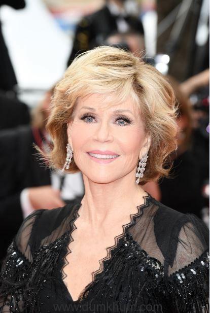 L'Oréal Paris ambassador Jane Fonda on Day 6 of red carpet at Cannes Film Festival 2018 (1)