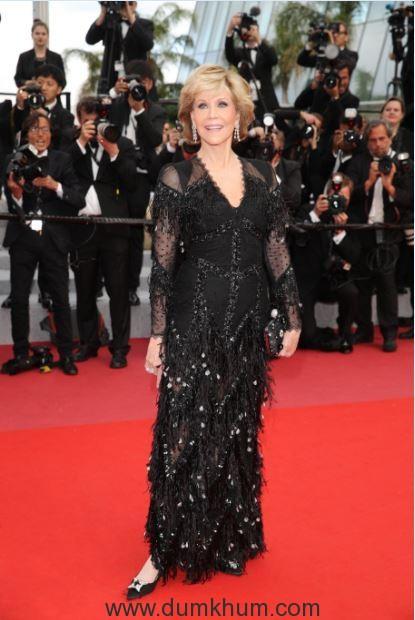 L'Oréal Paris ambassador Jane Fonda on Day 6 of red carpet at Cannes Film Festival 2018 (2)