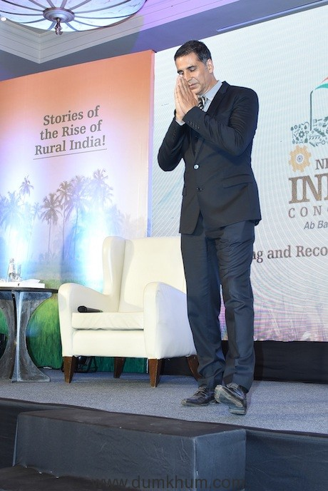Launch of the New India Conclave by Brand Ambassador Akshay Kumar (4)