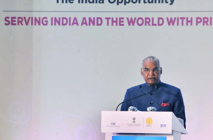 India's Large Talent Pool Gives It Natural Advantages In Services – President