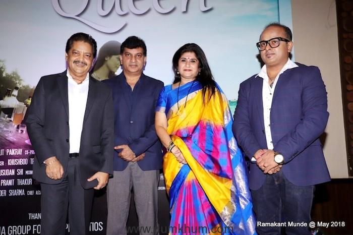 Producer Lalit Paikray, Jeetu and Shalini Thackeray & Udit Narayan
