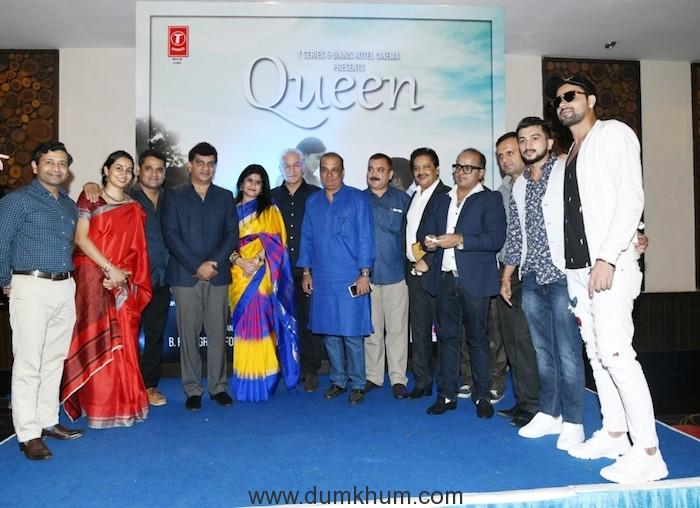 Producer Lalit Paikray, Jeetu and Shalini Thackeray.....