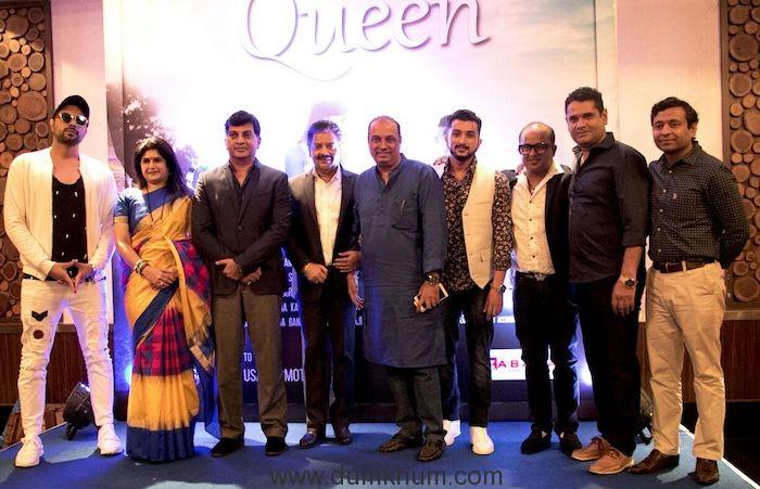 Producer Lalit Paikray, Jeetu and Shalini Thackeray...
