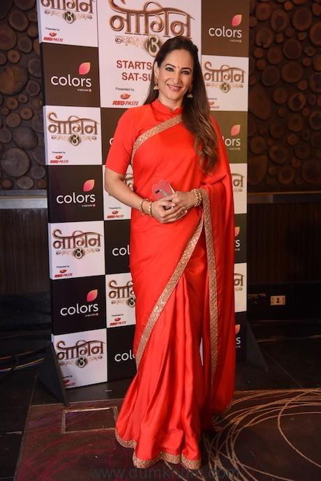 Rakshanda Khan at the launch of COLORS' Naagin 3