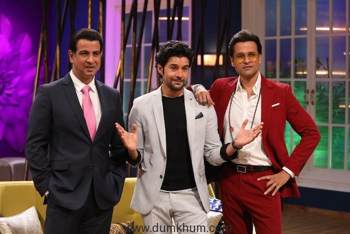 Ronit Roy, Rajeev Khandelwal and Rohit Roy on Zee TV's JuzzBaatt