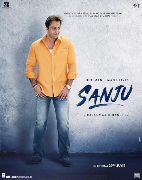 Sanju- Munnabhai Look
